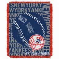 new york yankees sheets set. new york yankees double play jacquard throw blanket sheets set 8