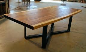 live edge wood dining table canada natural tables slab uk