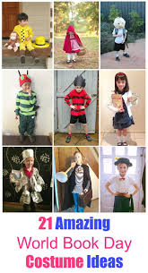 if you are looking for some world book day inspiration here are the best diy book character costumes your children will love to