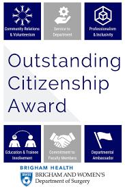 Outstanding Citizenship Award