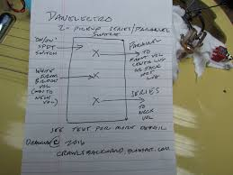 danelectro series parallel pickup switch crawls backward when alarmed on the right is the drawing i made to illustrate this and to help me wire it correctly on my guitar