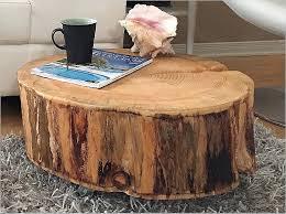 stump coffee table wood stump end table fresh coffee table end tables made from tree trunks