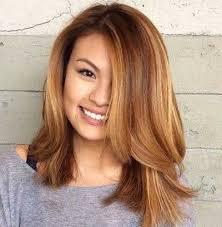 Model Rambut Panjang Poni Samping   Tipe potongan rambut, Gaya rambut,  Rambut panjang
