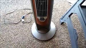 tower fan squeaks when oscillating the fix