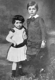 albert einstein com albert and maja einstein as children
