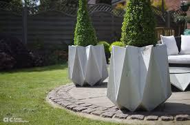 ac contempotary concrete planter kronen tall 10 1000 logo