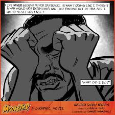 com monster a graphic novel ebook walter dean myers guy  view larger