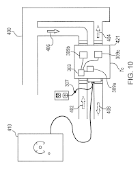 patent us7958594 central vacuum cleaner cross controls google patent drawing