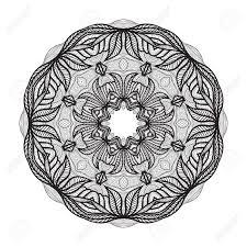 クレイジー マンダラ塗り絵zendoodle のテンプレートですラウンド Zentangleあなたのデザインの丸い飾りレ