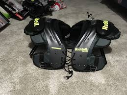 Riddell Football Shoulder Pads Size Chart Riddell Surge Youth Football Shoulder Pads