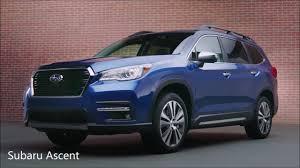 Subaru Forester Light Blue All New 2019 Lincoln Nautilus Vs Subaru Ascent 2019
