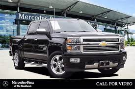 Pre Owned 2014 Chevrolet Silverado 1500 High Country 4d Crew Cab In The Woodlands U327189 Mercedes Benz Of The Woodlands