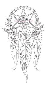 Small Picture 118 best Dreamcatcher Coloring Page images on Pinterest Draw