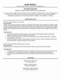 University Teaching Assistant Resume Resume Online Builder