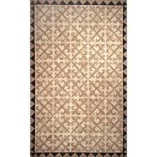 tile neutral rug moroccan moorish ivory
