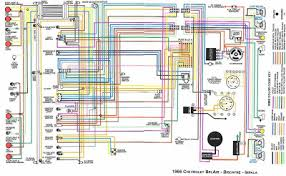 chevrolet bel air biscayne and impala complete electrical chevrolet belair biscayne and impala 1966 complete electrical wiring diagram