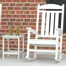 white outdoor rocking chair. White Outdoor Rocking Chair S 600 Lb Capacity C