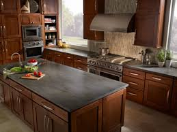 kitchen countertop ideas with oak cabinets home cabinet