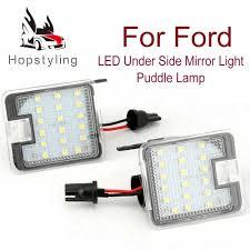 <b>2Pcs</b> Super bright LED Under Side Mirror Puddle Light for <b>Ford</b> ...