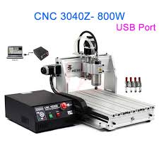 3 axis desktop cnc router 3040 800w with usb 2 0 port ball