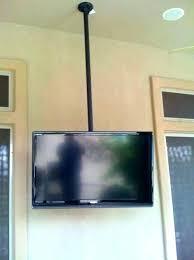 Retractable tv mount Cabinet Folding Ceiling Tv Mounts Retracting Mount Fabulous Retractable Folding Ceiling Mount Tv Bracket For Flat Screen Piyakornchinfo Folding Ceiling Tv Mounts Automotrizrodriguezmexicoinfo