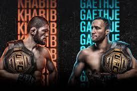 UFC 254 | Khabib vs Gaethje