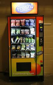 Fresh Healthy Vending Machines Classy New Vending Machines Offer Fresh Healthy Snacks Scene