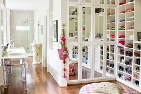 Shelving For Small Bedrooms Captivating Walk In Closet Design Idea For Small Bedroom With Teak