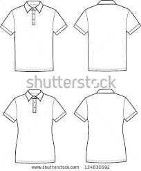 stock vector vector illustration of men s and women s polo t shirts front and back views 134830592 free polo shirt for men vector free vector download (85,740 free on polo shirt design template