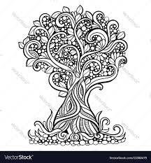 Art Doodle Doodle Art Tree