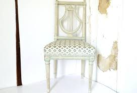 Lyre Back Chair French Louis Xvi History