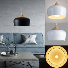 modern wood metal pendant lights lamp ceiling chandelier fixture coffee lighting