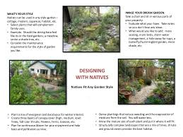 Small Picture Landscaping with Pacific Northwest Native Plants