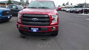 2017 F150 Lariat - Sport Appearance Package - Ruby Red - YouTube