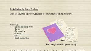 Doc Mcstuffins Big Book Of Boo Boos Free Printable Disney