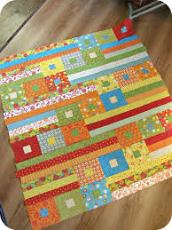 318 best Strip Quilt images on Pinterest | Carpets, Crafts and ... & Super cute and easy jelly roll quilt with square in a square blocks. Since  the Adamdwight.com