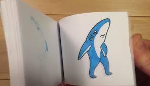 Flip Book With Photos Katy Perry Super Bowl Halftime Show Dancing Shark Cartoon Flipbook