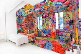 graffiti art for bedroom decorating