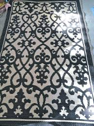 recycled outdoor rugs fab habitat recycled plastic rug black cream recycled plastic outdoor rugs 8 x recycled outdoor rugs recycled plastic