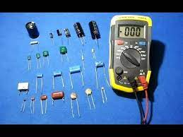 test smd capacitors with a multimeter