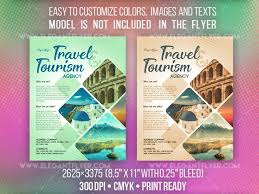 Travel And Tourism Free Flyer Psd Template Freebiedesign Net
