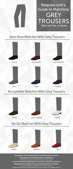Shoes With Light Grey Pants How To Pair Grey Trousers With Different Shoe Colors