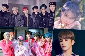 Exo Iu Bts Kang Daniel And More Top Gaon Monthly