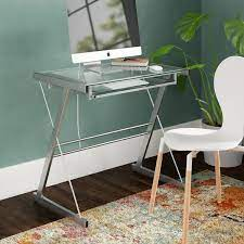 Yvonne Glass Computer Desk - 36 inch wide computer desk - 10 Best One -  Unbiased reviews
