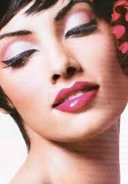 makeup cateyes hair makeup cat eye makeup pin up makeup pink makeup pretty makeup scarletmadeline 39