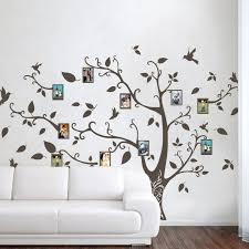 wall decor geckoo image photo frame family tree wall decals wall stickers family tree decal