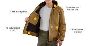 Carhartt Men's Duck Active Jacket - Quilt-Lined, Brown, Small ... & Features for Carhartt Men's Duck Active Jacket - Quilt-Lined, Brown, Small, Adamdwight.com