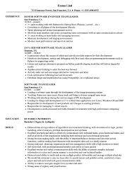 Software Team Leader Resume Samples Velvet Jobs
