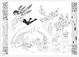 Mia And Me Coloring Pages And Me Coloring Pages Compilation Mia And