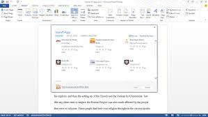 anatomy of apps for office apps for office and sharepoint blog a new apps for office button on the insert tab of the ribbon brings a dialog that shows all available apps